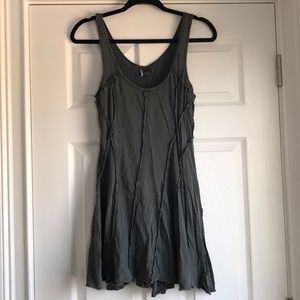 Sparkle & Fade Washed Grey Dress